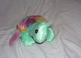 Precious Moments Tender Tails TURTLE Bean Bag Plush 1999 NEW w/Tag - $9.96