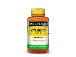 50 Softgels advanced Vitamin D 5000 iu Immune system & Bone Health NEW L... - $10.88