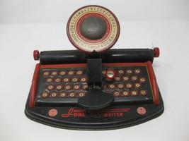 Vintage 1950's Marx Junior Dial Toy Typewriter - $19.79