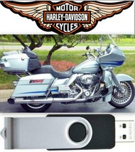 2011 Harley-Davidson Touring Models Service Repair Manual USB Flash Drive - $18.00