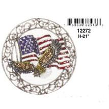 American Flag & Eagle Crystal Wind Chime - $19.95