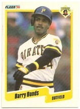 1990 Fleer Baseball Card #461 Barry Bonds Pittsburgh Pirates - $0.98