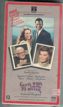 "Guess Who's Coming To Dinner""-VHS MOVIE  - $7.00"