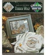 Timber Wolf Call of the Wild Cross Stitch Pattern Booklet - $8.98