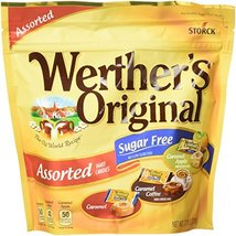 WERTHER'S ORIGINAL Sugar Free Assorted Hard Candies, 7.7 Ounce Bag, Hard... - $7.23