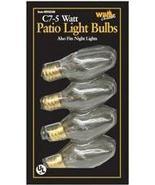 C7 REPLACEMENT LIGHT BULB FOR C7 LIGHT STRINGS - 3 - 4 PACK - $19.99