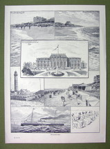 GERMANY Spa Resort Westerland Sylt Island - VICTORIAN Era Print - $13.49
