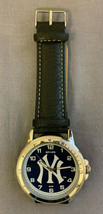 New York Yankees Classic Men's Sport Watch Officially Licensed Product (Black) - $19.75