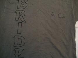 Vintage 90's Bride  Scarecrow Messiah Fan Club 1994 Concert Tour T Shirt L - $39.59