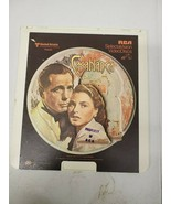 CED Videodisc RCA CasablancaHumphrey Bogart Black and White (c22) - $9.49