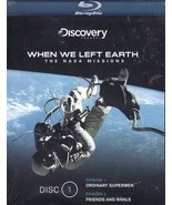 When We Left Earth:  The NASA Missions (Disc 1, episode 1&2) Blu-ray - $5.95