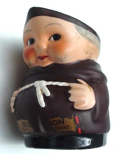 Vintage Goebel West Germany Friar Tuck Monk Toothpick Holder / Cream Pitcher Old