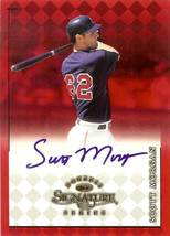 1998 donruss signature scott morgan autograph indians baseball card - $4.99