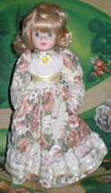 Doll - Blond Porcelain Doll. - $20.00
