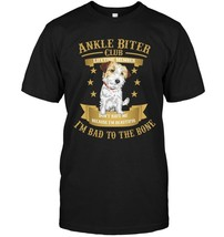 Jack Russell Terrier Dog Mom Dad Im Bad to the Bone Shirt - $17.99+