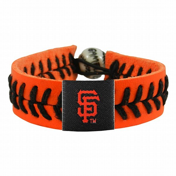 San Francisco Giants Team Color Gamewear Bracelet - Orange