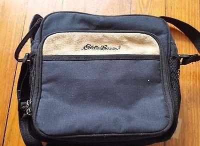 Ed Bauer Black Multi Purpose Lunch Tote Diaper Carrying Bag