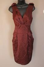 Nanette Lepore 'Three Graces' Cocktail Dress sz 6 NEW $348 women's wine ... - $123.67 CAD