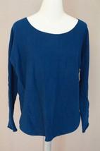 VINCE | Shirt Tail Wool-Cashmere Sweaterwomen's V143974320 blue sz M $2... - $1.481,88 MXN