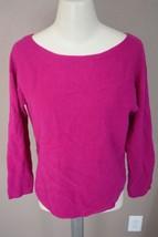 VINCE Boatneck Cashmere Dolman Sweater$295 Azalea V120874611 cashmere w... - $1.296,62 MXN