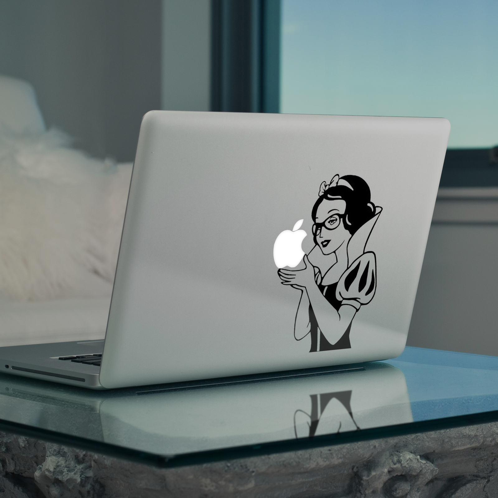 MacBook Snow White Sticker Decal For MacBook Pro Air All Sizes Snow White Art