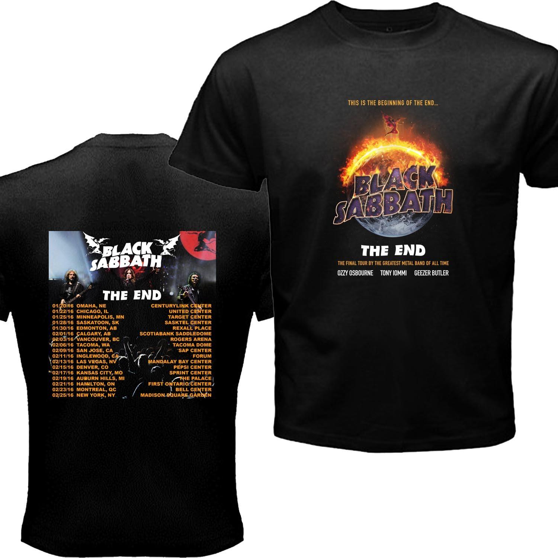 Black sabbath t shirt xxl - New Black Sabbath The End Tour Dates 2016 T Shirt Kapingp 19 90 23 90