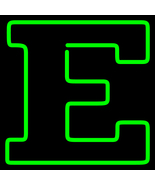 Ncaa eastern michigan eagles logo neon sign 16  x 16  1 thumbtall