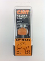 "CMT 837.222.11 Cove Router Bit, 1/4"" Shank, 1/4"" Radius,  Made in Italy - $22.80"