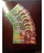 Xeko~Mission: Indonesia~9 postcards~6 x 4 1/4~orangutan - $11.83