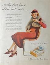 Chesterfield Cigarette, 1933 original magazine ... - $15.99