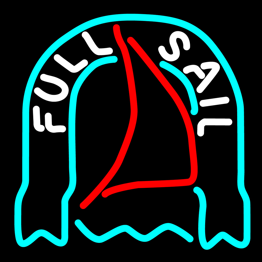 Primary image for Fosters Full Sail Neon Sign