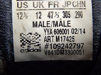 Adidas Supernova Glide 6 Boost Men's Running Shoes Size US 12.5 M (D) EU 47 1/3