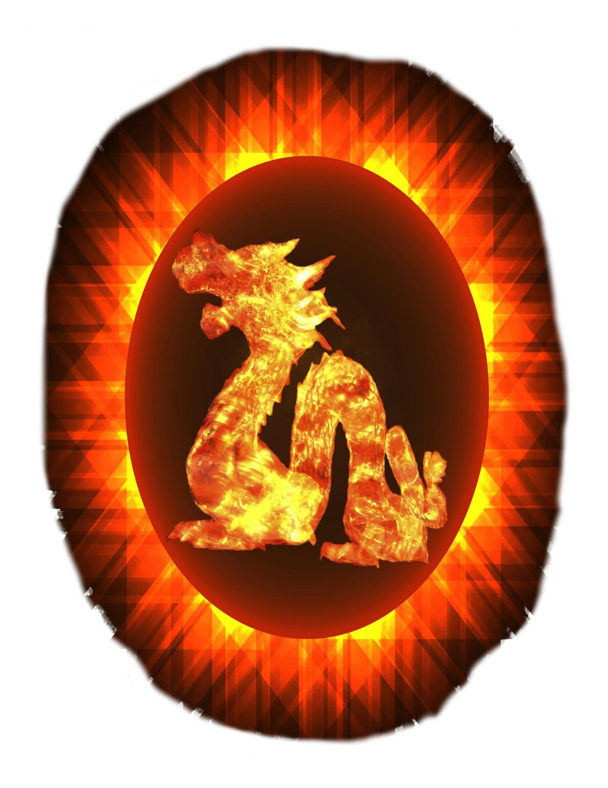 Solar Eclipse with Dragon-Download -ClipArt-Art Clip