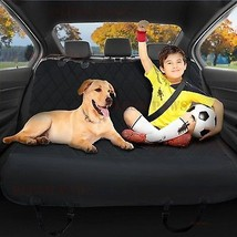 Pet Seat Cover with Seat Anchors,Harness,Hammock,Belt,Silicon,Upholstery... - $69.95