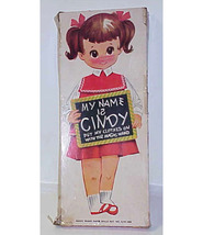 CINDY by MAGIC WAND PAPER DOLLS - ORIGINAL BOX - $12.99