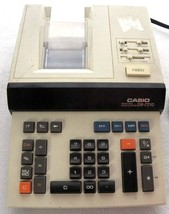 Casio DR-7210 Printing Calculator Desk Adding Machine WORKS - $29.71