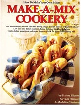 MAKE-A-MIX COOKERY by Eliason, Harward & Westover - 1978 SC from HP Books - $10.00