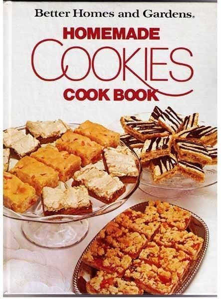 Better Homes And Gardens Homemade Cookies Cook Book 1975