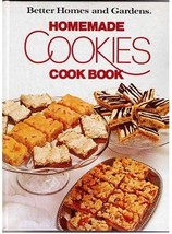 """Better Homes and Gardens  """"HOMEMADE COOKIES"""" Cook Book 1975 HC - $12.99"""