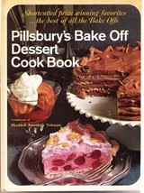 Pillsgbury's Bake Off Dessert Cook Book - 1968 HC - $8.59