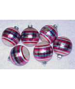 Vintage Glass Shiny Brite Christmas Ornaments - $23.36
