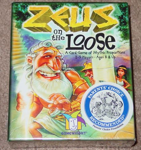 Primary image for ZEUS ON THE LOOSE CARD GAME OF MYSTIC PROPORTIONS GAME 2007 GAMEWRIGHT NEW SEALE