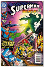 Dc Comics 1992 Superman Doomsday! #74 Guest Starring Justice League America - $12.99