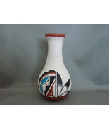 Fine Polychrome  Vase Southwest Native American Pottery Signed - $11.99