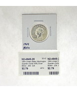 1964 United States Washington Quarters Dollar 90% Silver RATING: (F) Fin... - €2,51 EUR