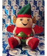 Handmade Glass Christmas Elf - $38.26