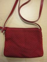 The SAK Shoulder Bag Red - $20.00