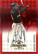 1998 donruss signature dante powell giants baseball card - $4.99