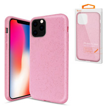 Reiko APPLE IPHONE 11 PRO Wheat Bran Material Silicone Phone Case In Pink - $9.38