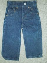 Vintage Levis 302 Childrens Denim Jeans size 18x13 - $40.00